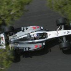 Kimi Räikkönen en el GP de Mónaco 2003