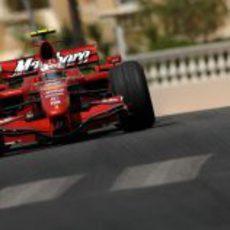Kimi Räikkönen en el GP de Mónaco 2007