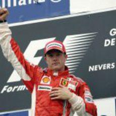 Segunda victoria de Kimi Räikkönen con Ferrari