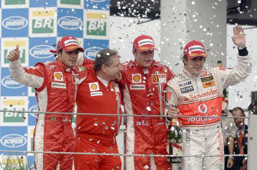 Kimi Räikkönen gana el título del Mundo de 2007
