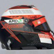 El casco de Kimi Räikkönen para 2008
