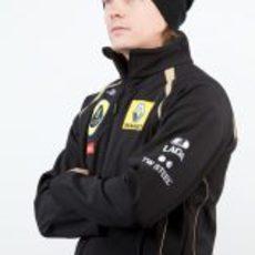Kimi Räikkönen se enfunda los colores de Lotus Renault GP