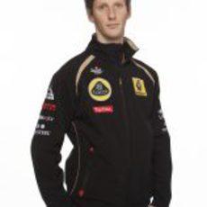 Romain Grosjean será el compañero de Kimi Räikkönen en 2012