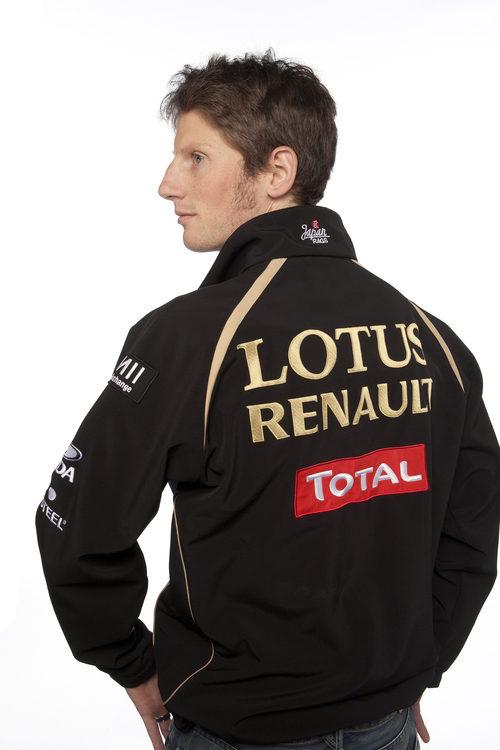 Romain Grosjean llega a Lotus Renault GP de la mano de Total