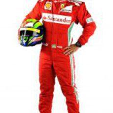 Felipe Massa, piloto de Ferrari en 2012