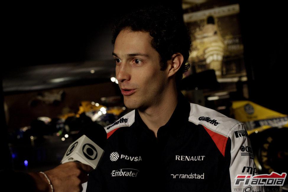 Bruno Senna entrevistado ya como piloto de Williams