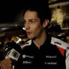 Bruno Senna entrevistado ya como piloto de Williams