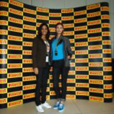 Inés Sastre y Bianca Balti con Pirelli en Abu Dabi