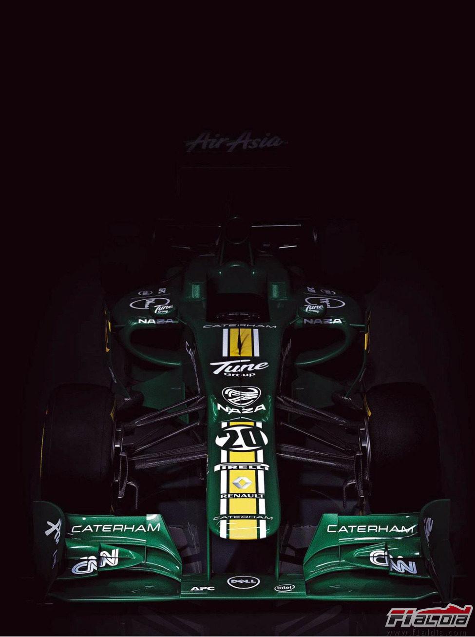 Presentación equipos F1 2012 11951_caterham-ct01-vista-frontal
