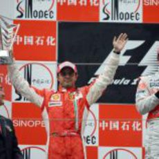 Massa celebra su segundo puesto
