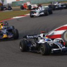 Rosberg ante Coulthard
