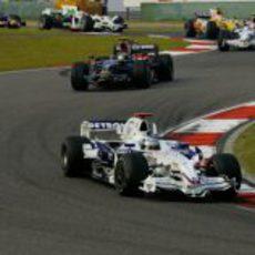 Heidfeld ante Vettel