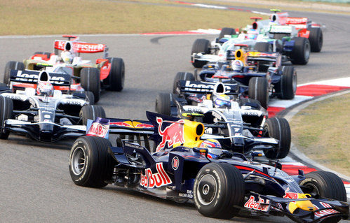 Webber en el GP de China