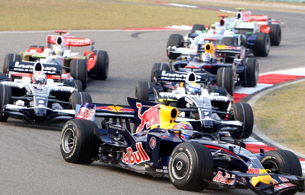 Webber en el GP de China