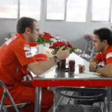 Domenicali y Massa