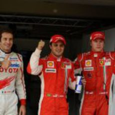 Gran Premio de Brasil 2008: Sábado
