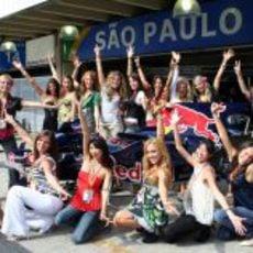 Las chicas de la Fórmula 1