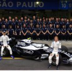 Foto de equipo de Williams