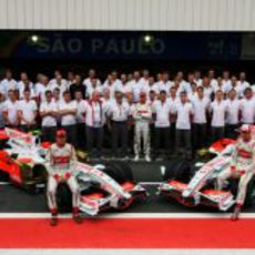 Foto de equipo de Force India