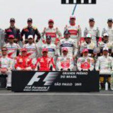 Los pilotos del campeonato de 2008