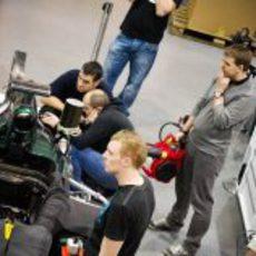 El motor Renault ruge en la sede de Caterham