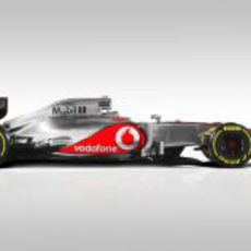 McLaren MP4-27, vista lateral