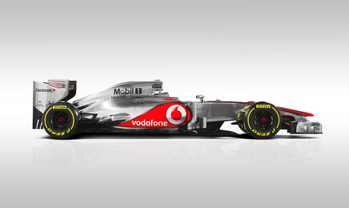 McLaren MP4-27, vista lateral