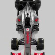 McLaren MP4-27, vista superior