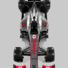 McLaren MP4-27, vista superior