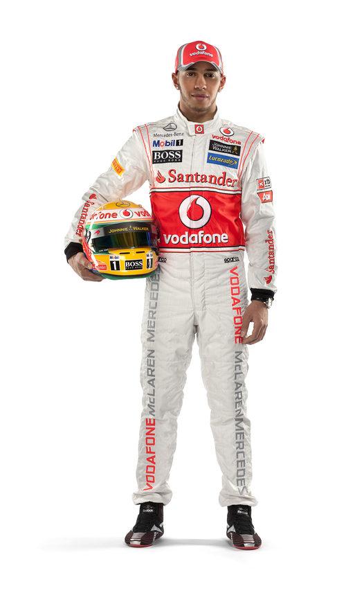Lewis Hamilton, piloto de McLaren en 2012