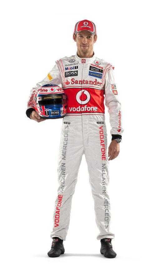 Jenson Button, piloto de McLaren en 2012