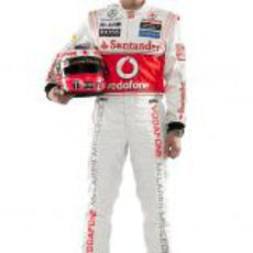 Gary Paffett, piloto probador de McLaren en 2012