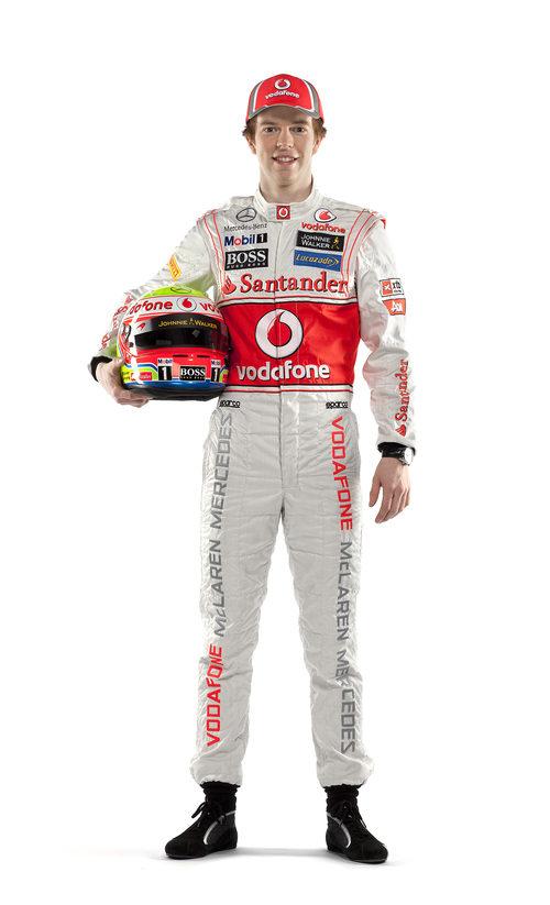 Oliver Turvey, piloto probador de McLaren en 2012