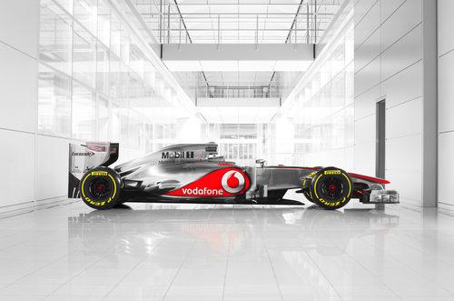 MP4-27, el monoplaza de McLaren para 2012