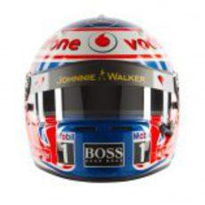 Casco de Jenson Button para 2012