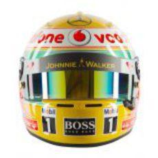 Casco de Lewis Hamilton para 2012