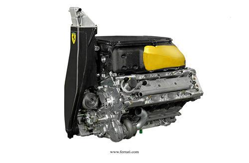 Motor del Ferrari F2012