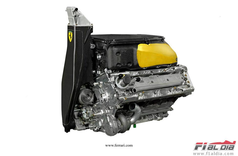 Presentación equipos F1 2012 12076_motor-del-ferrari-f2012