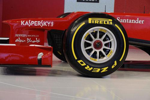 Nuevas llantas OZ para el Ferrari F2012