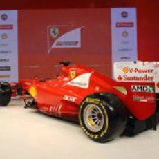 Una parte trasera muy miniaturizada en el F2012