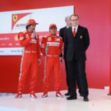 Fernando Alonso da su opinión sobre el F2012