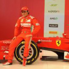 Felipe Massa y el Ferrari F2012