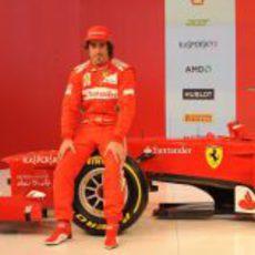 Fernando Alonso y el Ferrari F2012