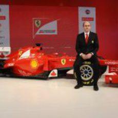 Luca Marmorini y el Ferrari F2012
