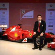 Nikolas Tombazis y el Ferrari F2012