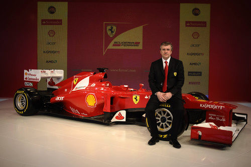 Pat Fry y el Ferrari F2012