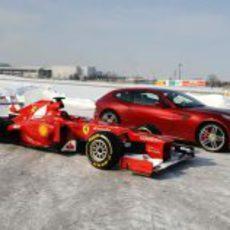 Ferrari F2012 vs. Ferrari FF