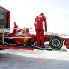 El Ferrari F2012 se marcha a Jerez