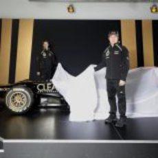 Räikkonen y Grosjean desvelan el Lotus E20