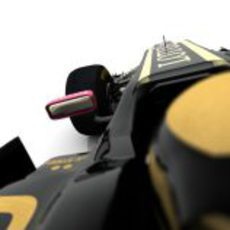 Vista del piloto en el Lotus E20